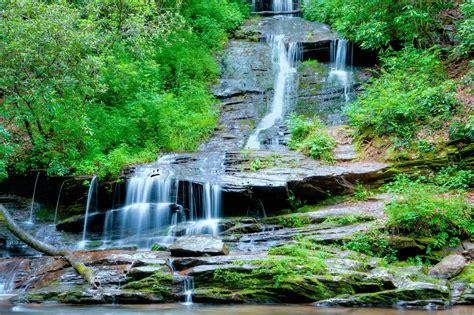 landscape waterfalls rocks waterfall trees landscape wallpaper 4256x2832 282313 wallpaperup