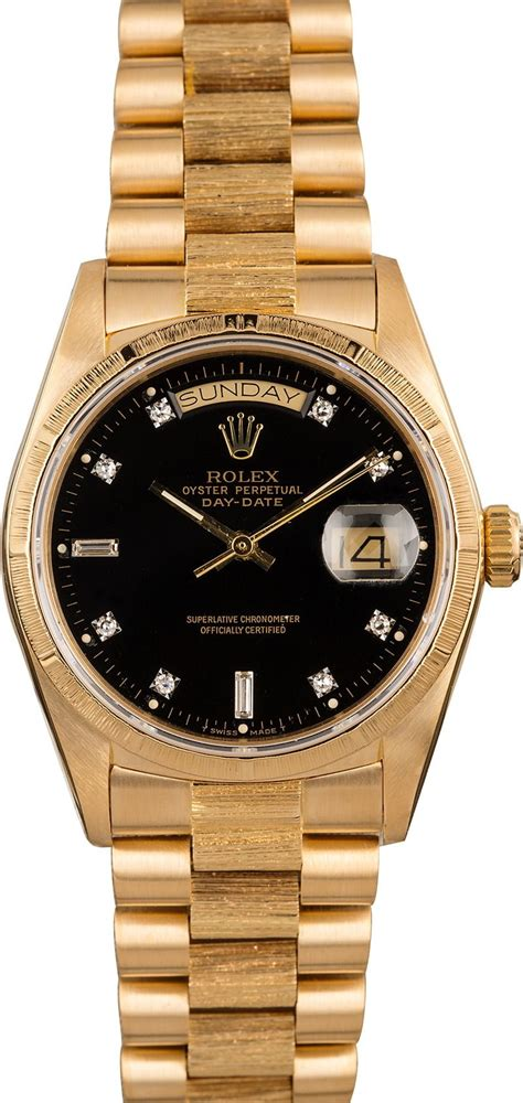 Buy Used Rolex President 18078 | Bob's Watches - Sku: 126165