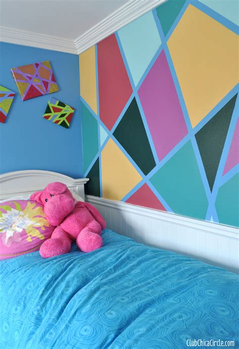 bedroom wall painting ideas modern wall design diy for the coolest wall Diy
