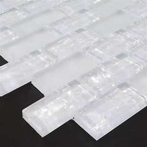 white subway tiles crackle backsplash kitchen wall
