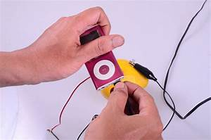 How To Power A Standard Mp3 Player With Lemon Batteries  6 Steps