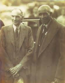 George Washington Carver and Henry Ford