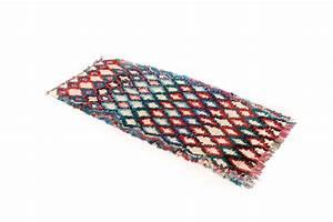 Teppich 100 X 200 : marokkanische berber teppich boucherouite 205 x 80 cm ~ Bigdaddyawards.com Haus und Dekorationen