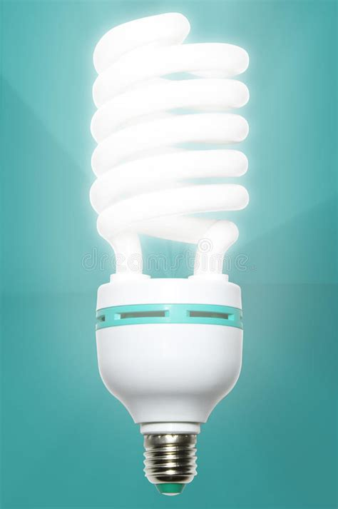 low energy light bulb royalty free stock photography