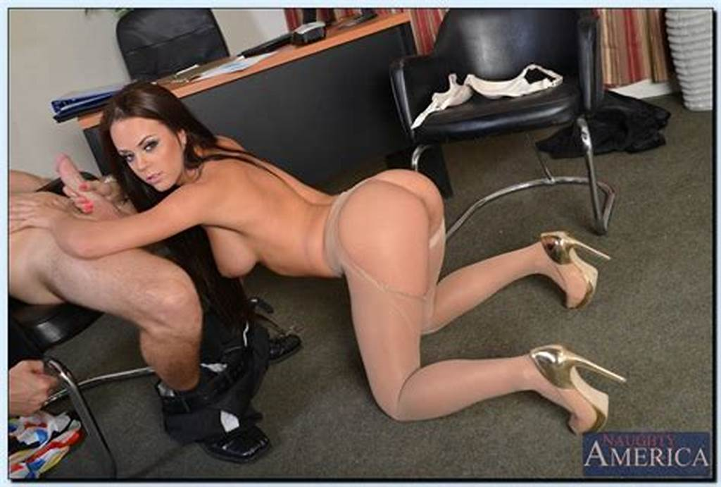 #Hot #Secretary #In #Pantyhose #Gets #Fucked #And #Facialized #By