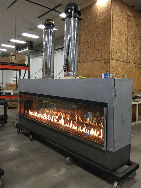 linear gas fireplace gas fireplace custom gas and linear fireplace