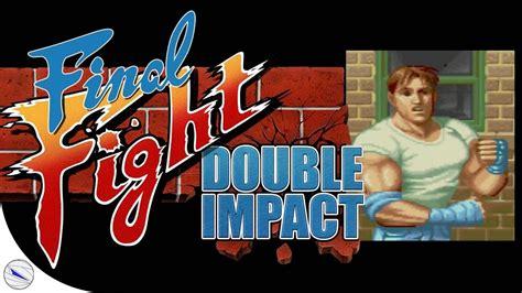 Final Fight Double Impact Ps3 Jogando Com Cody Youtube