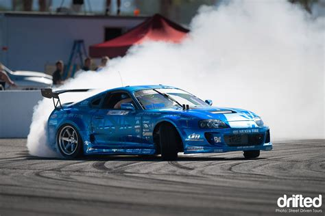 toyota supra drift drifting event street driven tour the finale drifted com