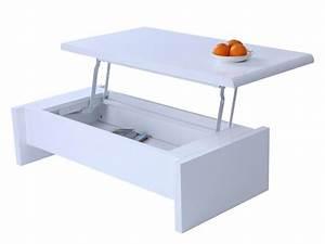 table basse ronde qui s39ouvre le bois chez vous With table basse qui s ouvre