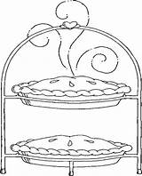 Coloring Pages Pies Pie Picnic Apple Printable Coloringbookfun Printables Getcoloringpages Updated Coloringpages101 Others Wool sketch template