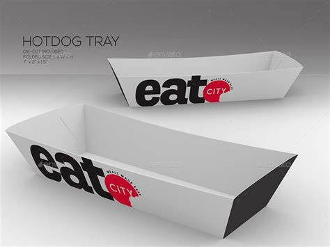 Take Out Packaging Mock Ups By