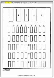 1999 Buick Park Avenue Fuse Box Diagram