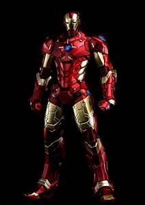 Iron Man - Iron Man Black & Gold Armor - RE:EDIT #07 ...