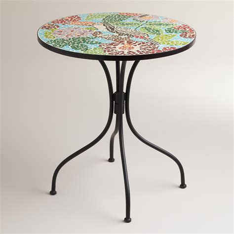 toucan cadiz mosaic bistro table world market