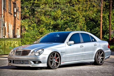 Mercedes-benz W211 E55 Amg Vossen Wheels