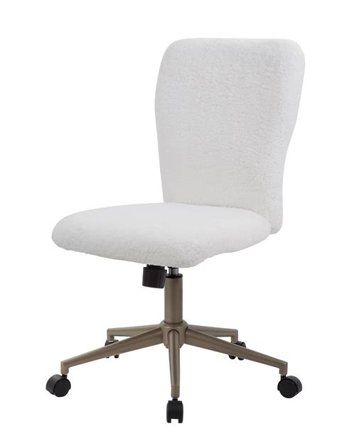 white fur office chair fur up to modern office chair white