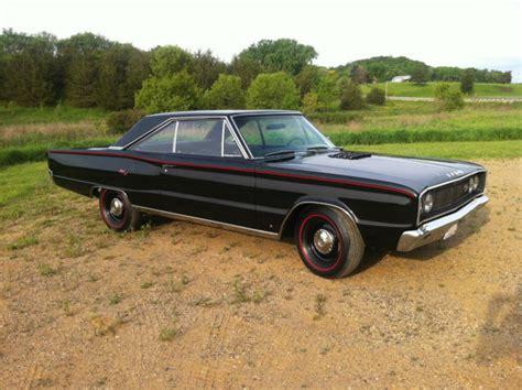 1967 Dodge Coronet R T by 1967 Dodge Coronet R T S Matching 440 4 Spd Black On
