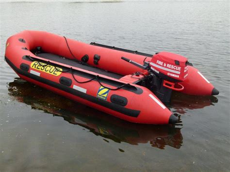 Emergency Boat by Zodiac Milpro Erb Boats Emergency Response