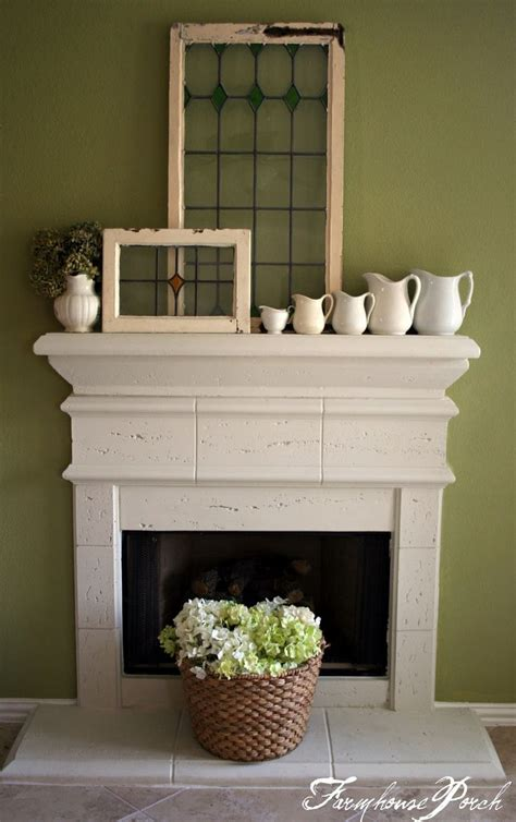 Window Mantle the farmhouse porch mantel i hadn t thought of putting my