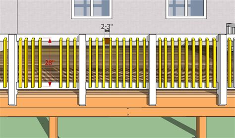 deck baluster spacing formula deck balusters spacing deck design and ideas