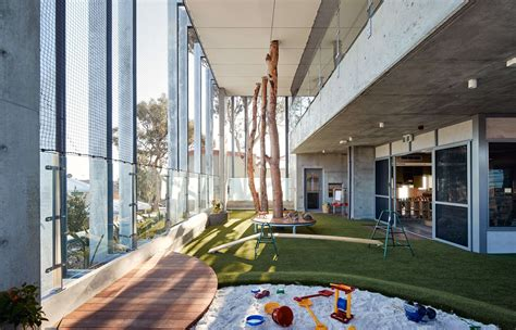 educational architecture  industrial daycare center