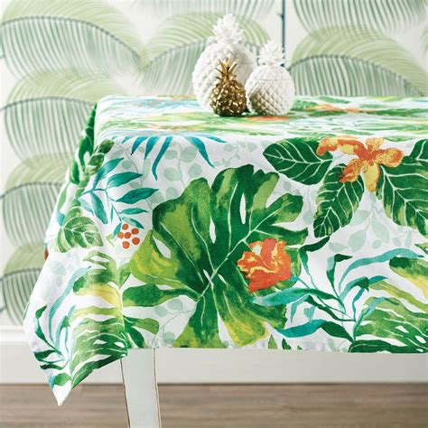 17 best ideas about tropical tablecloths on luau theme luau birthday banners and - Luau Table Cloths