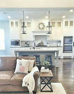 Small, Kitchen, Living, Room, Combo, Luxury, Love, This, Color, Bo