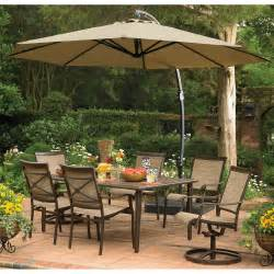 garden oasis replacement canopy for 11 5 ft offset umbrella
