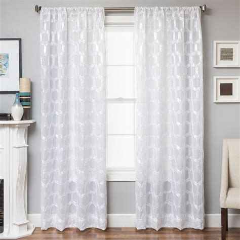 white sheer curtains 108 length bedroom curtains siopboston2010 com