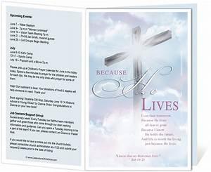 church bulletin templates cross church bulletin template With free templates for church programs