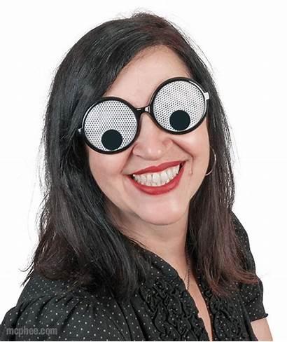 Googly Eyes Glasses Google Mcphee Them Head