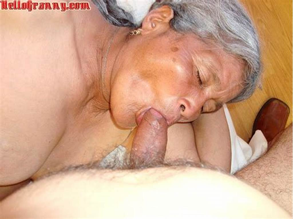 #Grey #Haired #Granny #Sucking