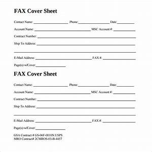 Sample generic fax cover sheet 13 documents in pdf word for Fax cover sheet generic