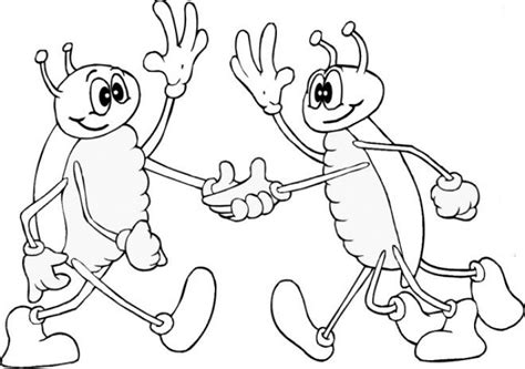 Coloring Pages Of Bugs - Costumepartyrun