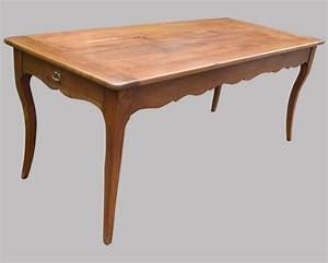 Table Ancienne De Ferme : table de ferme ancienne en bois fruitier ~ Teatrodelosmanantiales.com Idées de Décoration