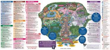 Anaheim Halloween Parade Route by New Fantasyland On The Magic Kingdom Guide Map Photo 1 Of 2