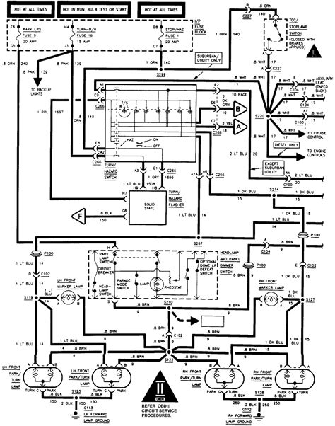 1997 Silverado Wiring Diagram by My 1997 Chevrolet Size Brake Lights Stopped