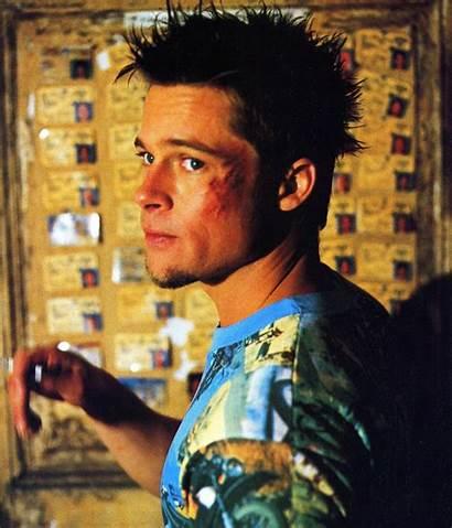 Fight Durden Tyler Brad Pitt Photoshoot Clube