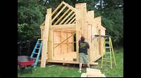 how to build a garden shed How to Build a Garden Shed • Building a Shed • How to Build a Shed Video • DIY Yard Shed Build ...
