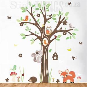 Woodland Forest Wall Art Sticker - StickyThings co za