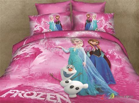 frozen comforter set 3d frozen bedding princess elsa olaf
