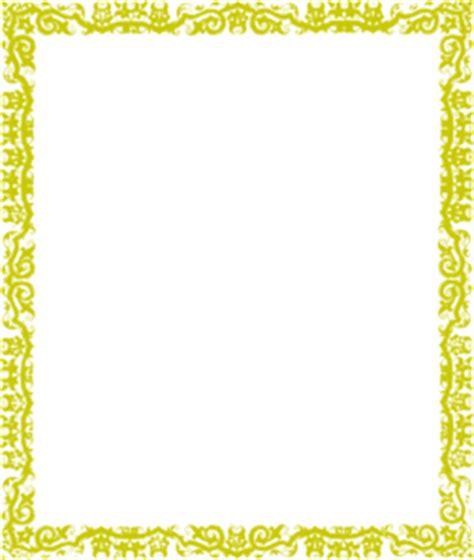 gold cool border clip art  clkercom vector clip art