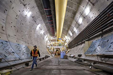 Seattle Tunnel Under Construction