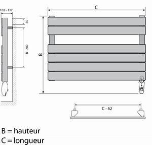 Petit Seche Serviette Electrique : seche serviette petite largeur maison design ~ Premium-room.com Idées de Décoration