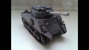 Lego M4a3 Sherman  With Instructions