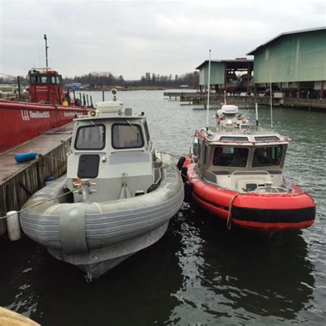 Aluminum Work Boats For Sale Used by Aluminum Zodiac Security Work Boat Aluminum Boat 2003 Used