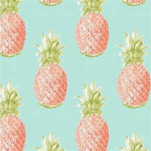 Fine Decor Pineapple Orange Wallpaper at Homebase.co.uk