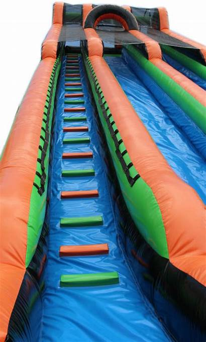 Slide Water Orange Mega Slip Foot