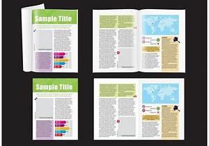 Google Docs Tri Fold Brochure Map Magazine Layout Download Free Vectors Clipart
