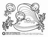 Octonauts Coloring Pages Printable Activities Colouring Animal Cartoon Disney Pdf Pearl Party Immedium Happy sketch template